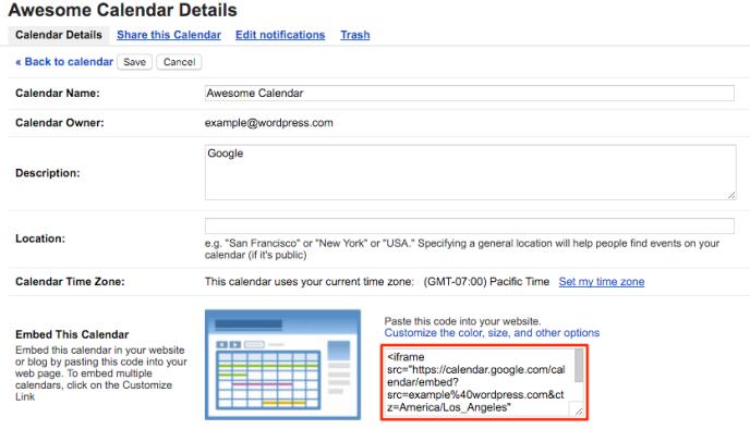 google-calendar-iframe