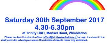 Messy Church @ Trinity URC, Mansel Road, Wimbledon