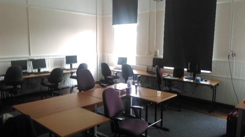 chaucer-centre-ICT-Suite