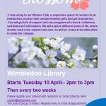 Blossom, Women's, Group, WimbleComm, Wimbledon, Community, Library