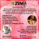 Zumba, Gen, Wimbledon, South Wimbledon, Colliers Wood, All Saints Church, Wednesday, Fitness, Dance, Exercise