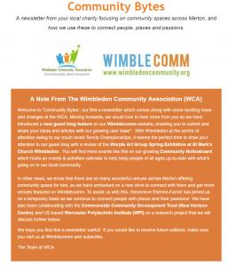 Community Bytes newsletter