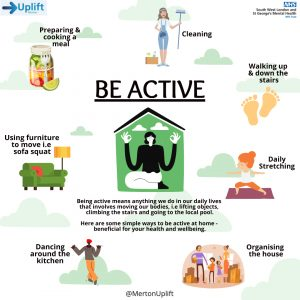 Merton Uplift Mental Health Week Be Active