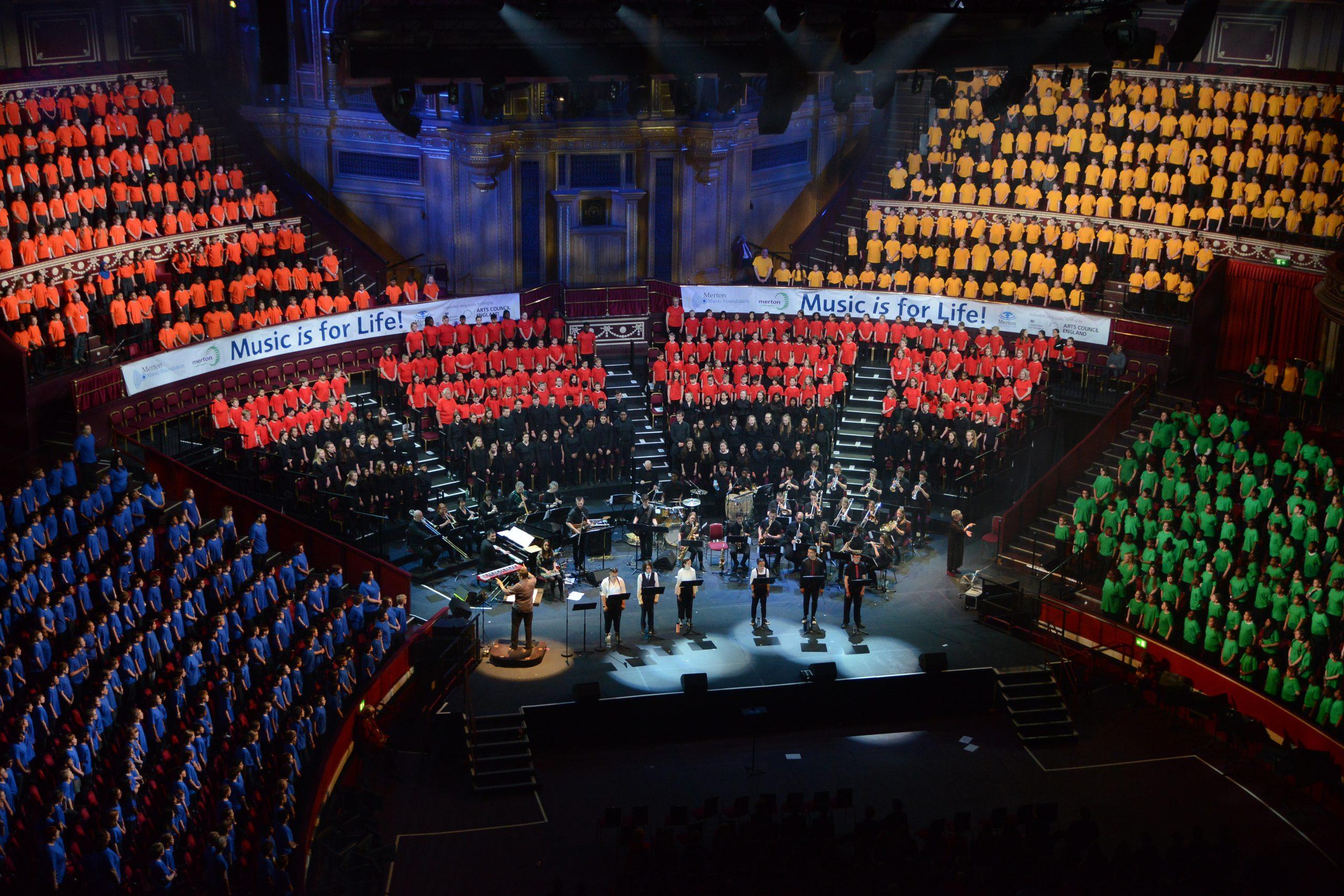 Merton Music Foundation Music is Life Concert Royal Albert Hall Rebecca Cresta