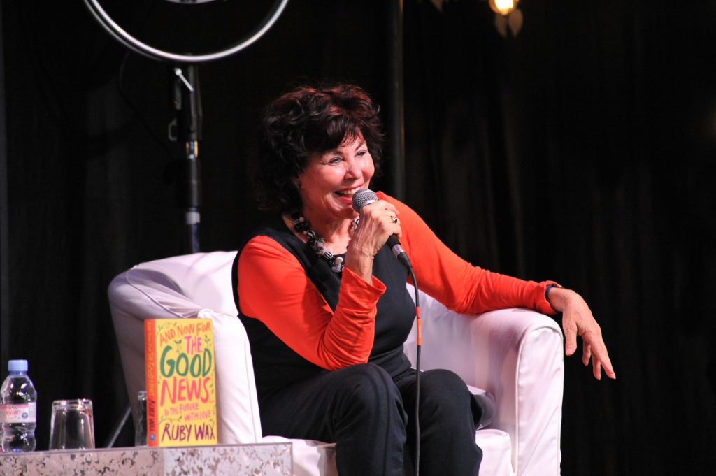 Ruby Wax Wimbledon BookFest