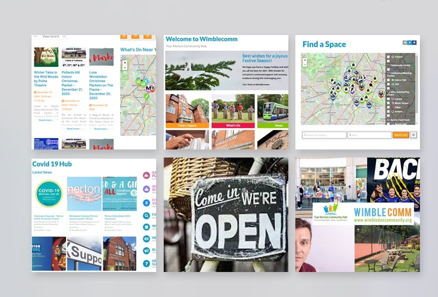 Wimblecomm, Community Hub for Merton
