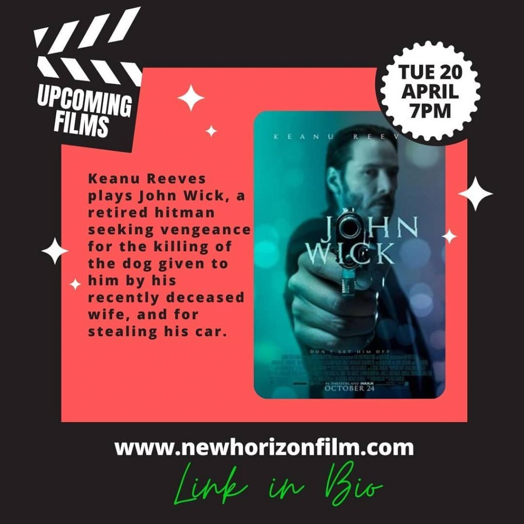 New Horizon Film Club Film Merton Online Free Film John Wick