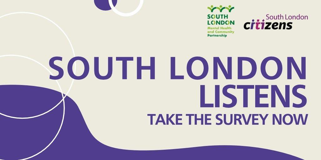 South London Listens Survey, South London Mental Health Partnership, Merton, Citizens UK, Merton Community Hub